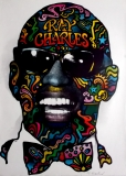 CHARLES, RAY - 1968 - Plakat - Günther Kieser - Poster - Autogramm / Signed