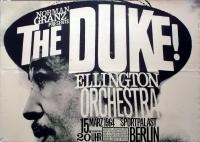 ELLINGTON, DUKE - 1964 - Plakat - Günther Kieser - Poster - Berlin