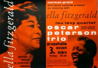 FITZGERALD, ELLA - 1960 - Plakat - Günther Kieser - Poster - Essen