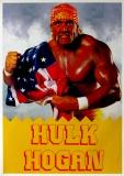HULK HOGAN - Plakat - Wrestling - Poster