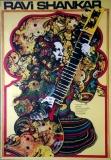 SHANKAR, RAVI - 1968 - Plakat - Günther Kieser - Poster