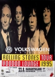 ROLLING STONES - 1995-08-22 - Plakat - Voodoo Lounge - Poster - Mannheim - A0
