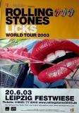 ROLLING STONES - 2003-06-20 - Plakat - Licks - Poster - Leipzig - A0