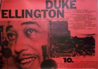 ELLINGTON, DUKE - 1958 - Konzertplakat - Jazz - Michel / Kieser - Tourposter