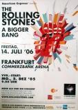 ROLLING STONES - 2006-06-14 - Plakat - Bigger Bang - Poster - Frankfurt - (Z) A0