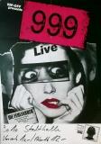 999 - NINE NINE NINE - 1981 - Konzertplakat - Fehlfarben - Tourposter - Köln