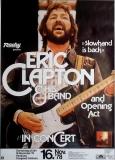 CLAPTON, ERIC - 1978 - Plakat - Günther Kieser - Poster - Hamburg