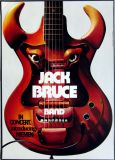 BRUCE, JACK - 1972 - Tourplakat - Concert - Kieser - Tourposter