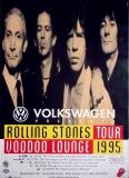 ROLLING STONES - 1995-08-00 - Tourplakat - Voodoo Lounge - Tourposter