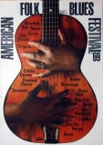 AMERICAN FOLK & BLUES - 1969 - Plakat - Günther Kieser - Poster