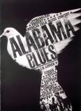 ALABAMA BLUES - 1966 - Plakat - Günther Kieser - Poster - Autogramm/signed