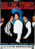 ROLLING STONES - 1990-05-30 - Plakat - Urban Jungle Tour - Poster - Köln (G)