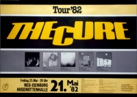 CURE, THE - 1982 - Konzertplakat - Pornography - Tourposter - Neu-Isenburg