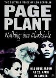 PAGE, JIMMY - PLANT - LED ZEPPELIN - 1998 - Promoplakat - Walking... - Poster