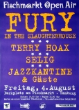 FISCHMARKT OPEN AIR - 1995 - Fury in the - Selig - Terry Hoax - Poster - Hamburg