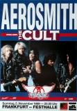 AEROSMITH - 1989 - Konzertplakat - The Cult - Pump - Tourposter - Frankfurt