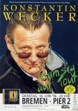 WECKER, KONSTANTIN - 1996 - Konzertplakat - Gamsig - Tourposter - Signiert