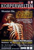 KÖRPERWELTEN - 2004 - Plakat - Gunther van Hagen - Hamburg - A