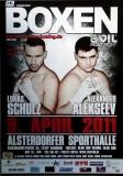 BOXEN - 2011 - Plakat - Lukas Schulz - Alexander Alekseev - Poster - Hamburg