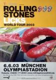 ROLLING STONES - 2003-06-06 - Plakat - Licks - Poster - München
