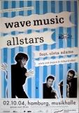 ADAMS, OLETA - 2004 - Konzertplakat - Wave Music - Tourposter - Hamburg