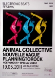 ELECTRONIC BEATS - 2011 - Animal Collective - Nouvelle Vague - Poster - Köln